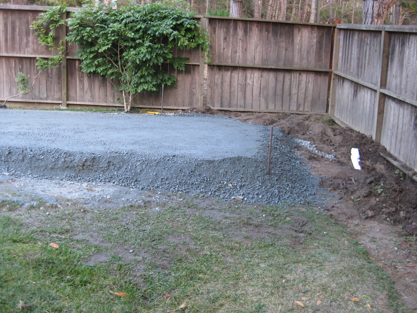 the bocce court project