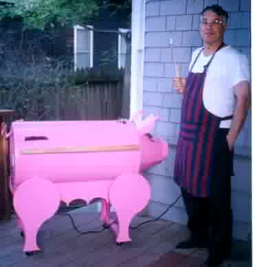 Barbecue Joe and Miss Piggy